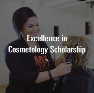 Excellence in Cosmetology schools scholarship